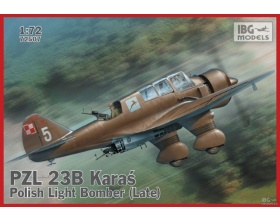 PZL. 23B Karaś - Polish Light Bomber (Late production) 1:72 | IBG 72507