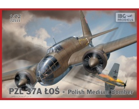 PZL.37 A Łoś - Polish Medium Bomber 1:72 | IBG 72511