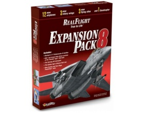 Symulator REAL FLIGHT EXPANSION PACK 8 dodatek do RealFlight G5 (lub nowszy) - GPMZ4118