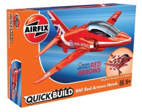 RED ARROW HAWK QUICK BUILD | Airfix 6018