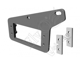 Reinforced Carbon Rear Servo Tray - EQ0511 - Vision 50 ElyQ