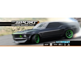 RS4 SPORT 3 1969 FORD MUSTANG RTR-X - 120102 - HPI