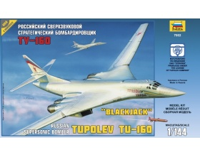 Russian Supersonic Strategic Bomber Tu-160 1:144 | Zvezda 7002