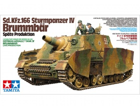 Sd.Kfz.166 Sturmpanzer IV Brummbar Late Production 1:35 | Tamiya 35353