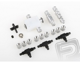Set of Fittings and Valves - EUROKIT 15609