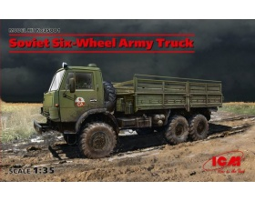 Soviet Six-Wheel Army Truck (new molds) 1:35 | ICM 35001