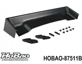 Spoiler On-Road 1:7 (Czarny) - HOBAO 87511B