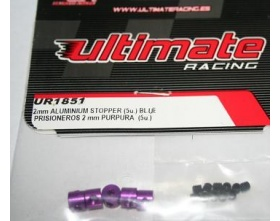 Stopery 2mm niebieskie | Ultimate Racing UR1851