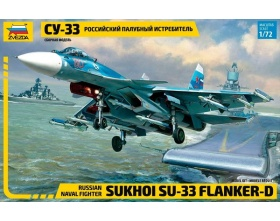 Su-33 Russian Naval Fighter 1:72 | Zvezda 7297