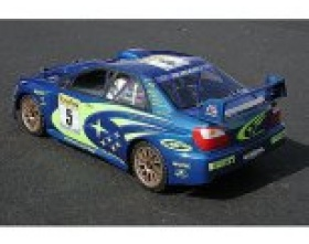 SUBARU IMPREZA WRC 2001 BODY (200mm)-HPI 7458