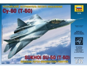 Sukhoi T-50 Russian Stealth Fighter 1:72 | Zvezda 7275