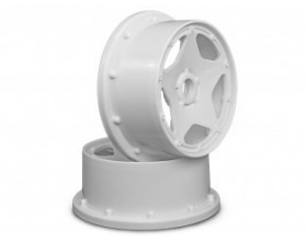 SUPER STAR WHEEL WHITE (120x60mm/2pcs)-HPI 3220
