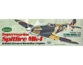 Supermarine Spitfire Mk-1 419mm - 504 Guillow