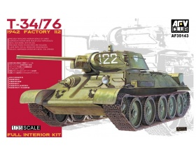 T-34/76 1942 FACTORY 112 1:35 | AFV Club 35143