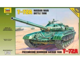T-72A Russian main battle tank 1:35 | Zvezda 3552