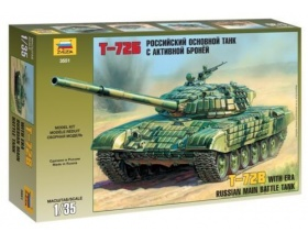 T-72B w/ERA Russian main battle tank 1:35 | Zvezda 3551