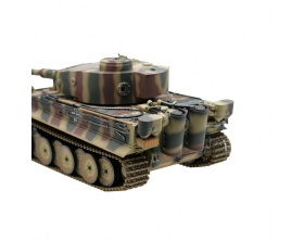 TIGER I 1:16 KAMUFLAŻ METAL 2,4GHz | TORRO HOBBY EDITION