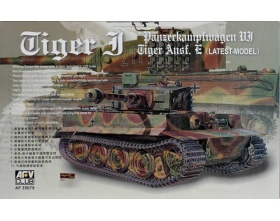 Tiger I Ausf. E Late 1:35 | AFV Club 35079