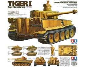 Tiger I Early Production 1:35 | Tamiya 35227