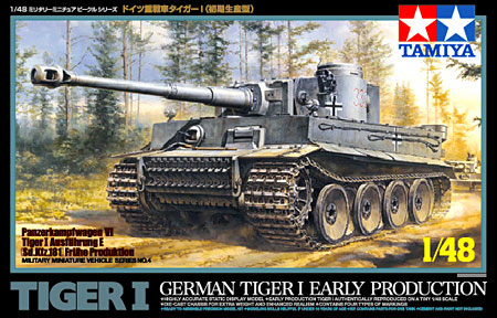 Tiger I Early Production 1:48 | Tamiya 32504