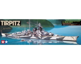 Tirpitz German Battleship Kit 1:350 | Tamiya 78015