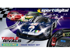 Tor wyścigowy Triple Rivals - Scalextric Digital