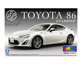 TOYOTA 86 GT Limited SATIN WHITE PEARL 1:24 -	AOS01005