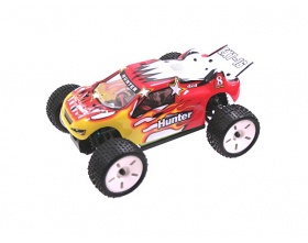 Truggy Hunter 1:16 EXT-16 Electric 4WD RTR 2,4 GHz (czerwony) - HIMOTO