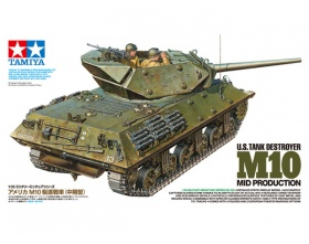 U.S. Tank Destroyer M10 MID PRODUCTION 1:35 | Tamiya 35350
