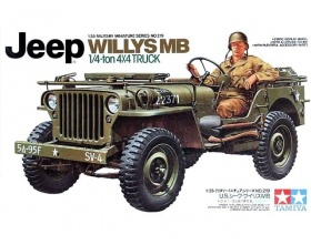 US Jeep Willys MB 1/4 Ton Truck 1:35 | Tamiya 35219