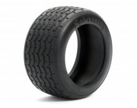 VINTAGE RACING TIRE 31mm D COMPOUND (2pcs)-HPI 4797