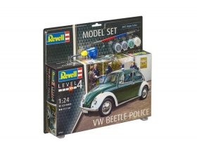 Volkswagen Beetle Police Model SET 1:24 | Revell 67035