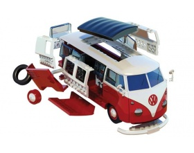 VOLKSWAGEN CAMPER VAN QUICK BUILd | Airfix 6017