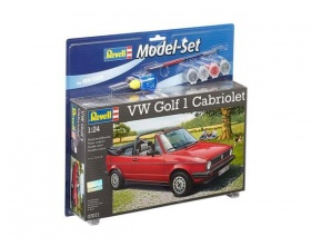 Volkswagen Golf 1 Cabrio  Model SET 1:24 | Revell 67071
