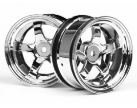 WORK MEISTER S1 WHEEL 26mm CHROME (6mm OFFSET)-HPI 3592