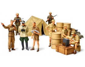 WWII German Africa Corps Infantry Set 1:48 | Tamiya 32561