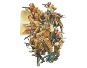 WWII Russian Infantry and Tank Crew Set 1:48 | Tamiya 32521
