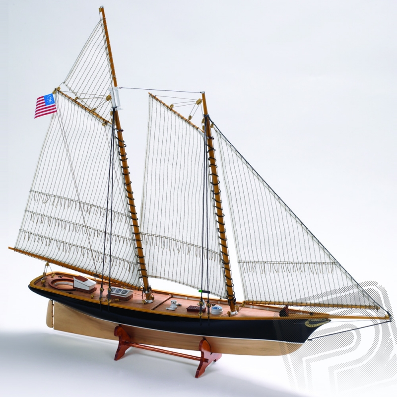 AMERICA szkuner 1:75 KIT - Billing Boats